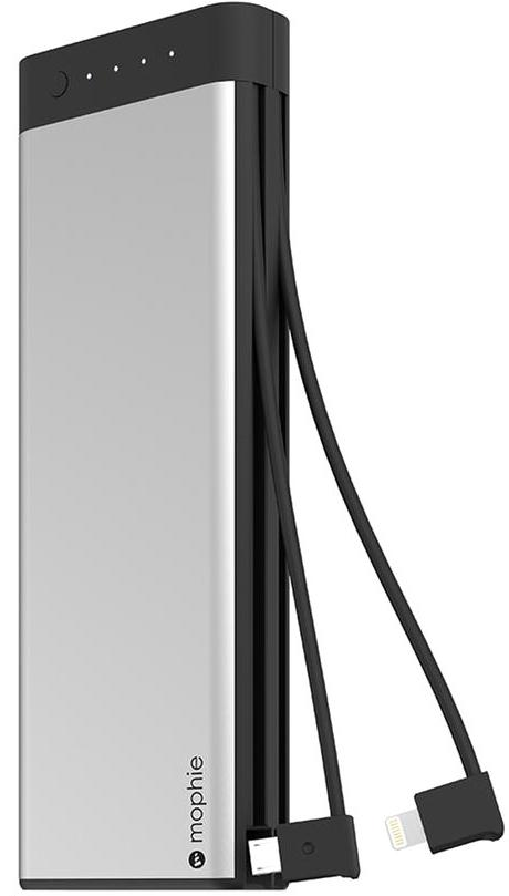 Внешний аккумулятор Mophie Encore Plus 20100 mAh Lightning/MicroUSB (Black)