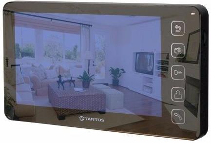 Tantos Prime SD Mirror - монитор видеодомофона (Black) Tantos Prime - SD Mirror
