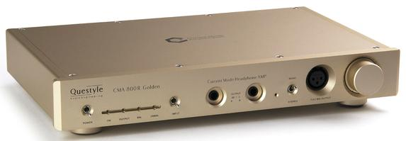Questyle CMA800R (00-00003226) - усилитель для наушников (Gold)Усилители для наушников и ЦАПы<br>Усилитель для наушников<br>