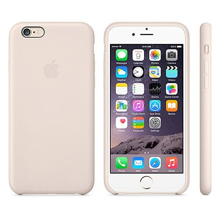 iPhone 6 Leather Case (MGR52ZM/A) - чехол для iPhone 6 (Soft Pink)
