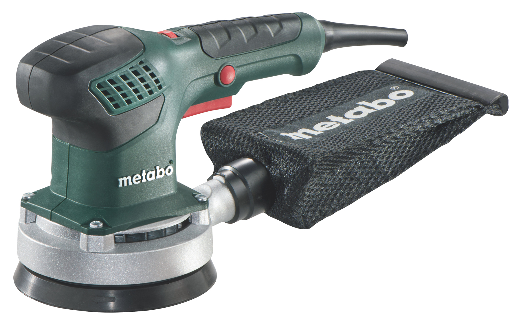 Metabo SXE 3125 (600443500) - эксцентриковая шлифмашина + кейс (Green) от iCover