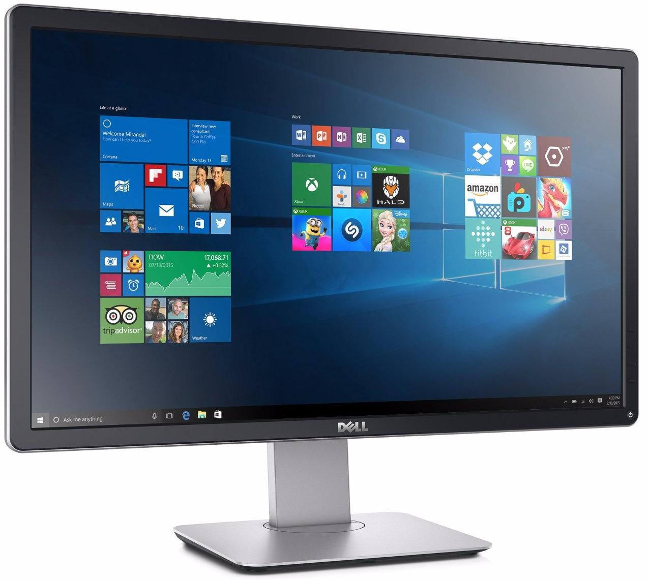 Монитор Dell P2416D 24'' TFT IPS (Black) монитор ips 24