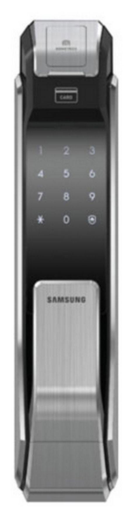Samsung SHS-P718 XBK/EN - биометрический дверной замок с ручкой (Black)