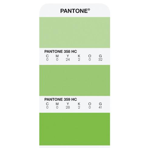 Pantone Solid in Hexachrome Guide Coated (GGH200) - цветовой справочник