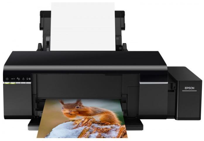 Epson L805 (C11CE86403) - струйный принтер (Black) принтер струйный