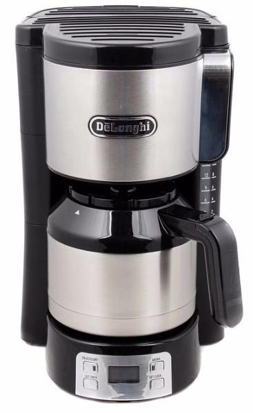 DeLonghi ICM 15750 - кофеварка капельная (Black/Silver)