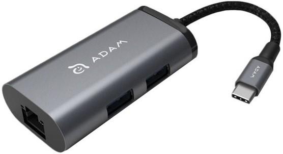 adam elements Адаптер мультипортовый Adam Elements CASA еС301 (Gray) AAPADHEC301GY