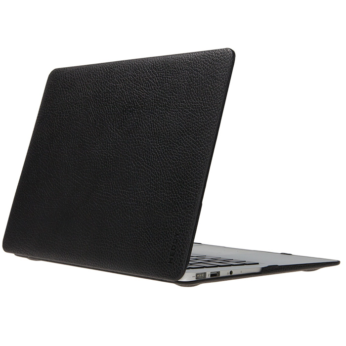 Heddy Leather Hardshell (HD-N-A-11-01-01) - чехол для MacBook Air 11'' (Black)