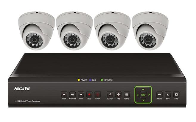 falcon eye Falcon Eye FE-104D KIT Дом - комплект видеонаблюдения
