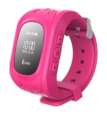 Кнопка жизни К911 - детские часы-телефон с GPS-геолокацией (Rose)Прочие умные часы<br>Детские часы-телефон с GPS-геолокацией<br>