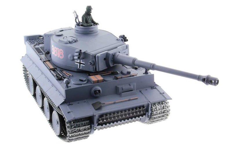 Heng Long Tiger 1 Pro 1:16 - радиоуправляемый танк (Grey)