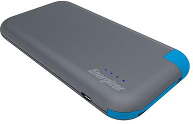 Energizer UE8001M 8000 mAh - внешний аккумулятор (Grey/Blue) аккумулятор red line r 8000 8000 mah grey