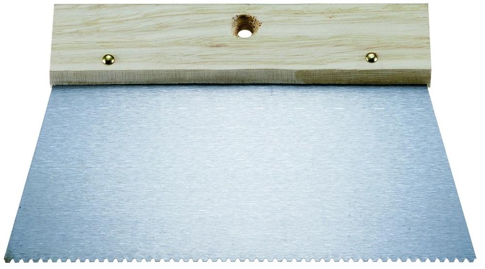 Kapriol 20 см (23193) - шпатель зубчатыйШтукатурные инструменты<br>Шпатель зубчатый для клея<br>