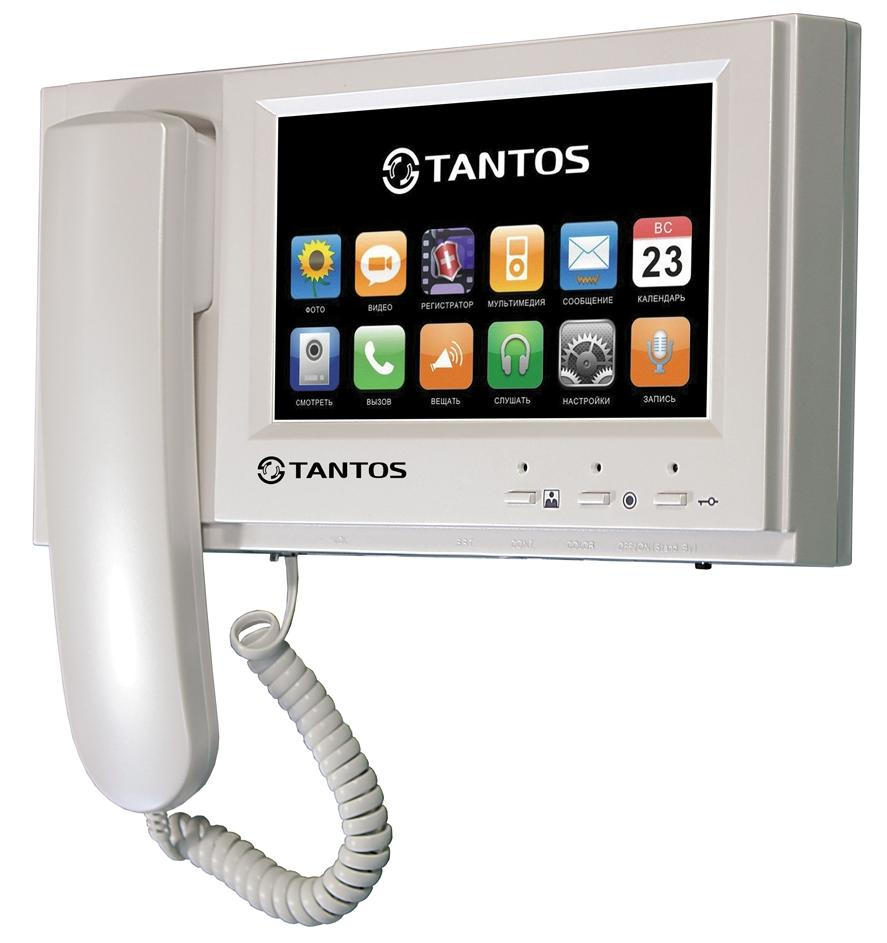 Tantos Loki+ - видеодомофон (White) LOKI +