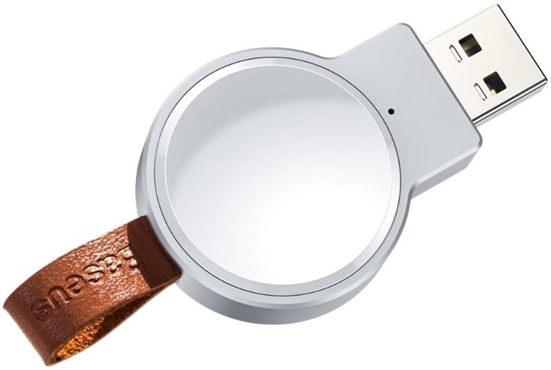 Беспроводное зарядное устройство Baseus Dotter Wireless Charger для часов (White)