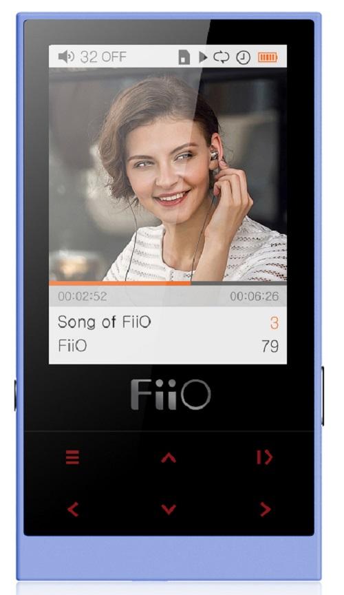FiiO M3 (15118389) - портативный плеер (Вlue)Портативные плееры<br>Портативный плеер<br>