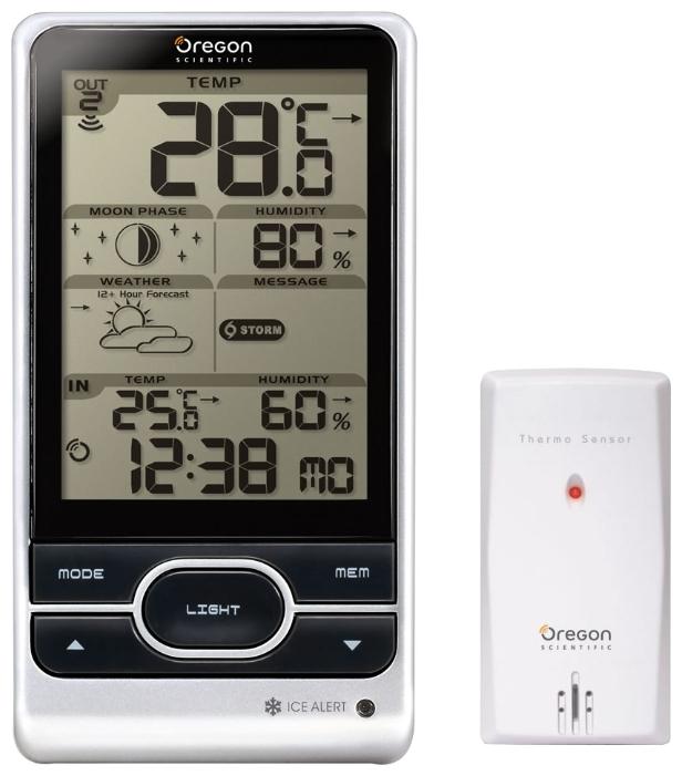 Oregon Scientific BAR208HG - погодная станция с цифровым термометром