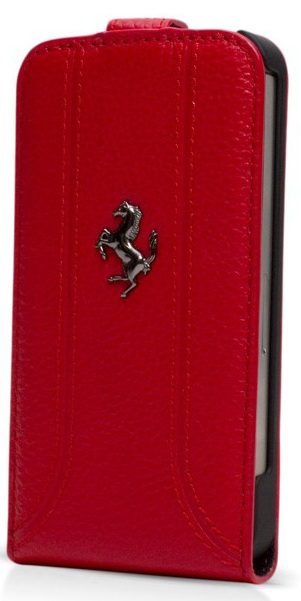 Ferrari Flip FF-Collection (FEFFFLP5RE) - чехол для iPhone 5/5S/SE (Red)