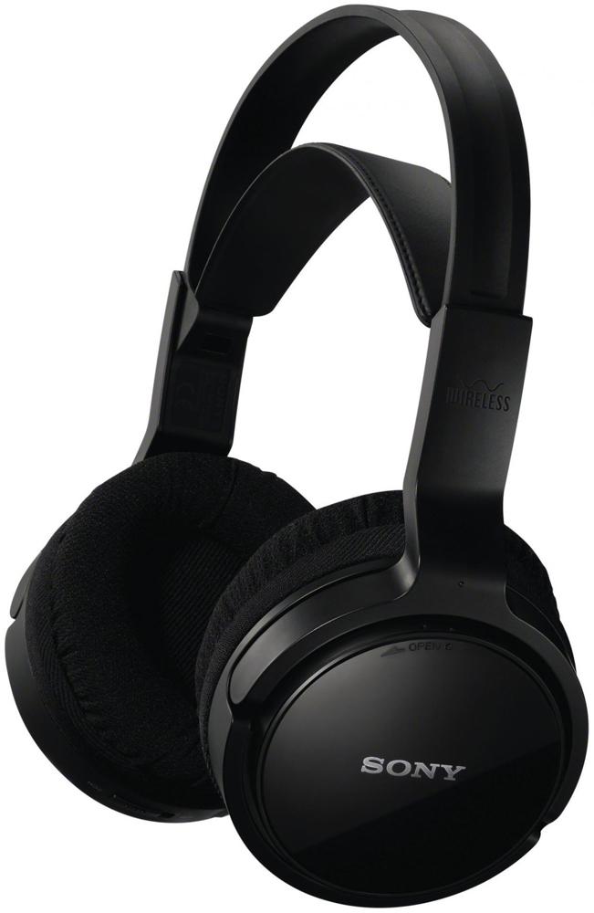 Sony MDR-RF811RK - беспроводные полноразмерные наушники (Black)Полноразмерные наушники<br>Беспроводные мониторные наушники<br>