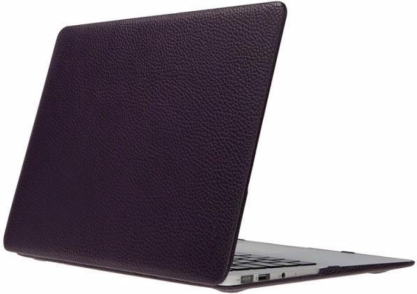 Heddy Leather Hardshell (OEM-N-A-12-01-12) - чехол для MacBook 12 (Violet)