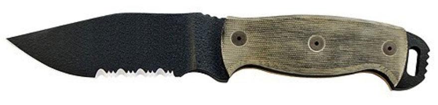 Нож Ontario Black Micarta (ONT/9415BMSR)Ножи туристические<br>Нож<br>