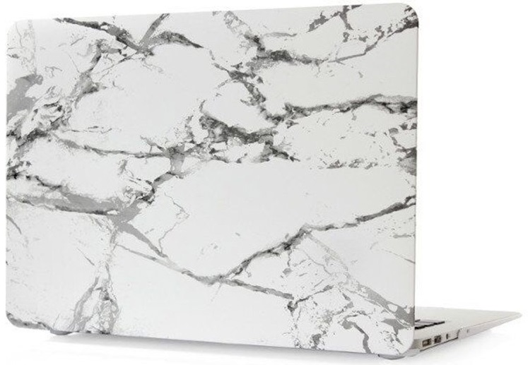 Чехол-накладка пластиковая i-Blason для Macbook Pro Retina 13 (White Marble)