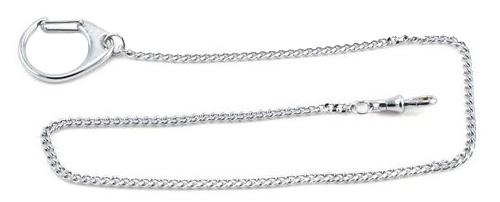 Victorinox 4.1813 - цепочка для ключей с кольцом и карабином (Silver)