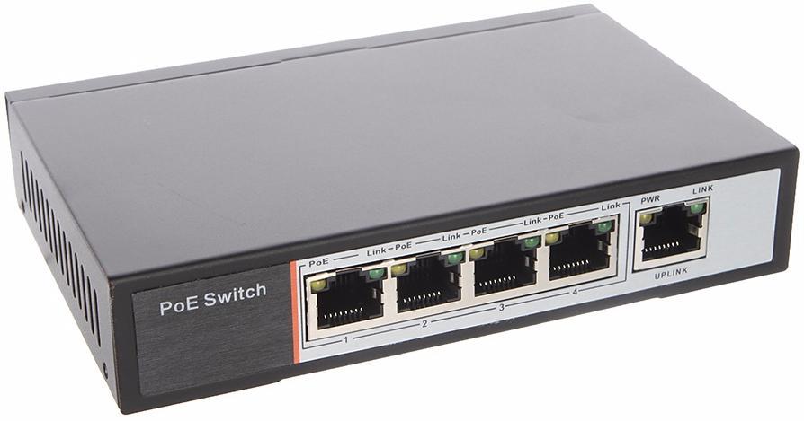 iVUE PS5-4 - 5-ти портовый свитч для IP-видеокамер (Black)