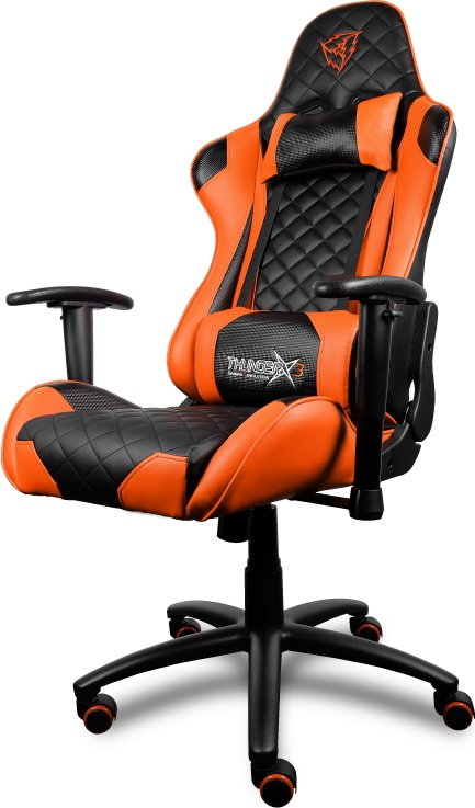 ThunderX3 TGC12 (TX3-12BO) - игровое кресло (Orange/Black) thunderx3 tgc40 игровое кресло black red