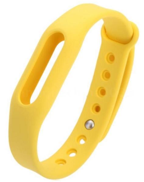 Сменный ремешок Original Replacement Xiaomi Wrist Band для Mi Band/Mi Band 1S (Yellow)