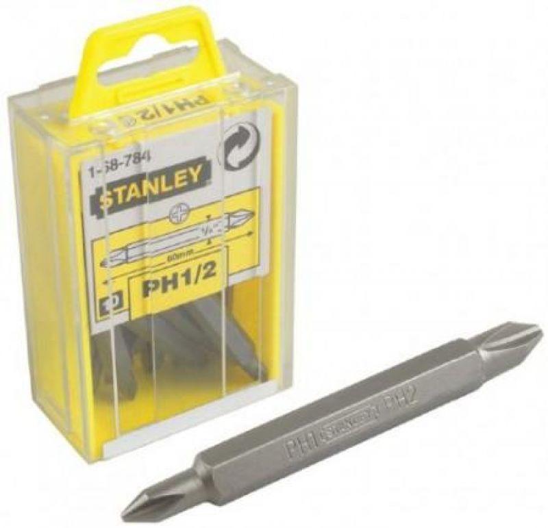 Stanley Ph1/2х60 мм (1-68-784) - набор вставок двухсторонних (10 шт.)