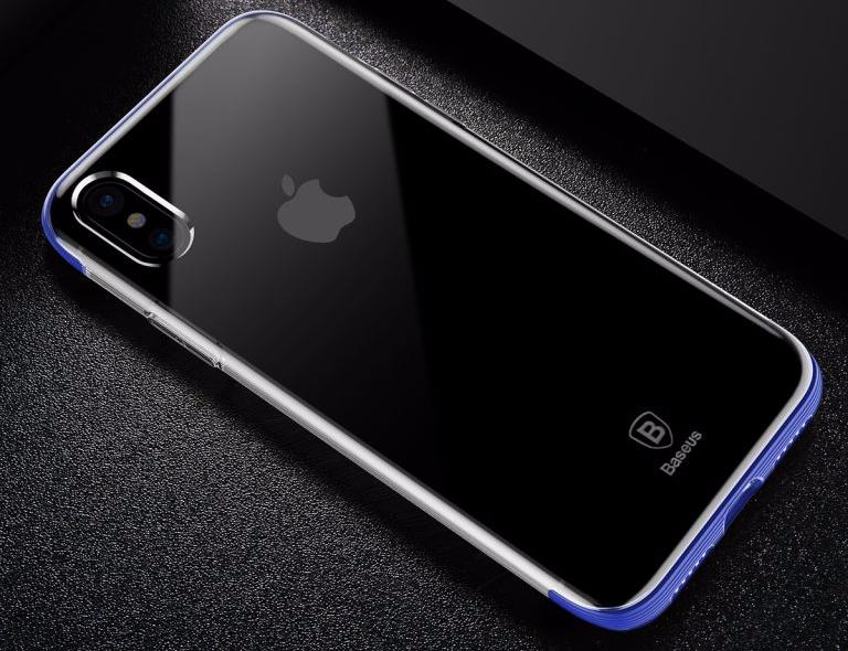 Чехол Baseus Armor Case (WIAPIPHX-YJ03) для Apple iPhone X (Blue)
