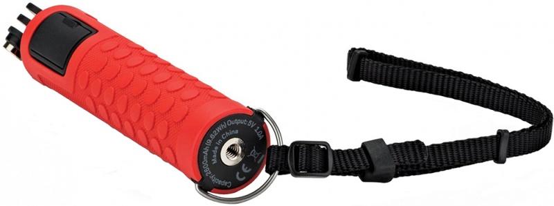 Joby Action Battery Grip - рукоятка со встроенным аккумулятором для экшн-камер (Red)