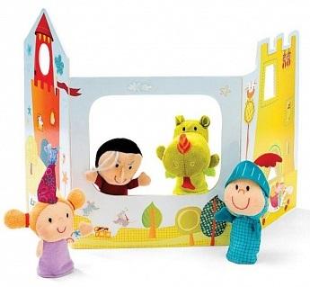 Волшебный замокРазвивающие игрушки<br>Пальчиковые игрушки<br>