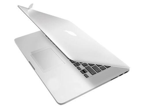 Защитная пленка на нижную и верхнюю часть Macbook Pro 15 (Silver)