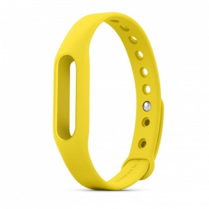 Original Replacement Xiaomi Wrist Band - сменный ремешок для Xiaomi Mi Band (Yellow)