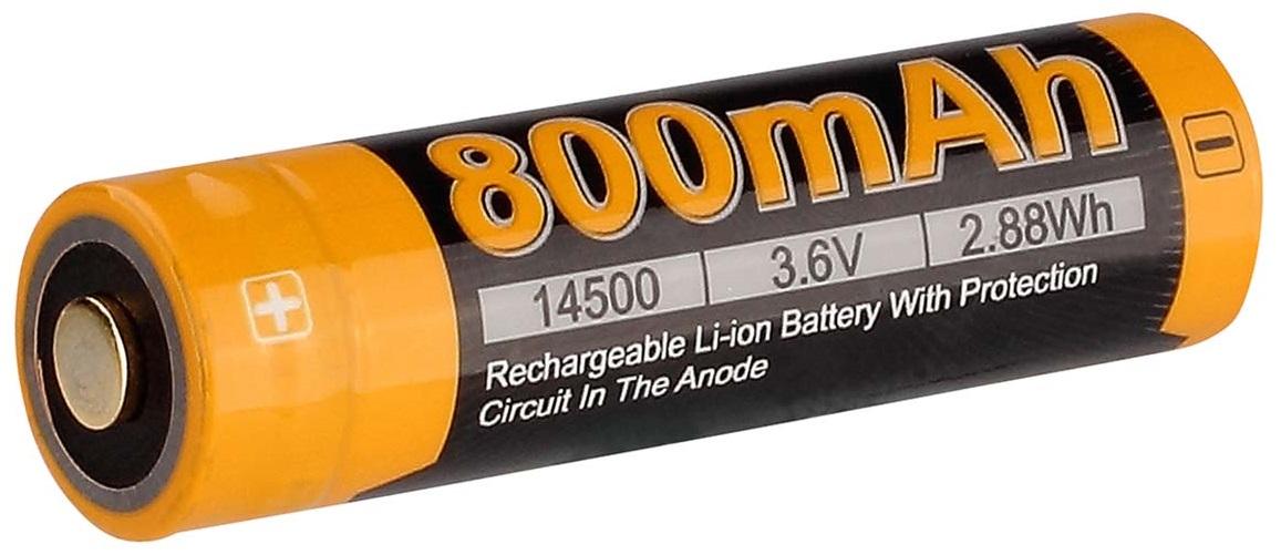 Fenix 800 mAh (ARB-L14-800) - аккумулятор 14500
