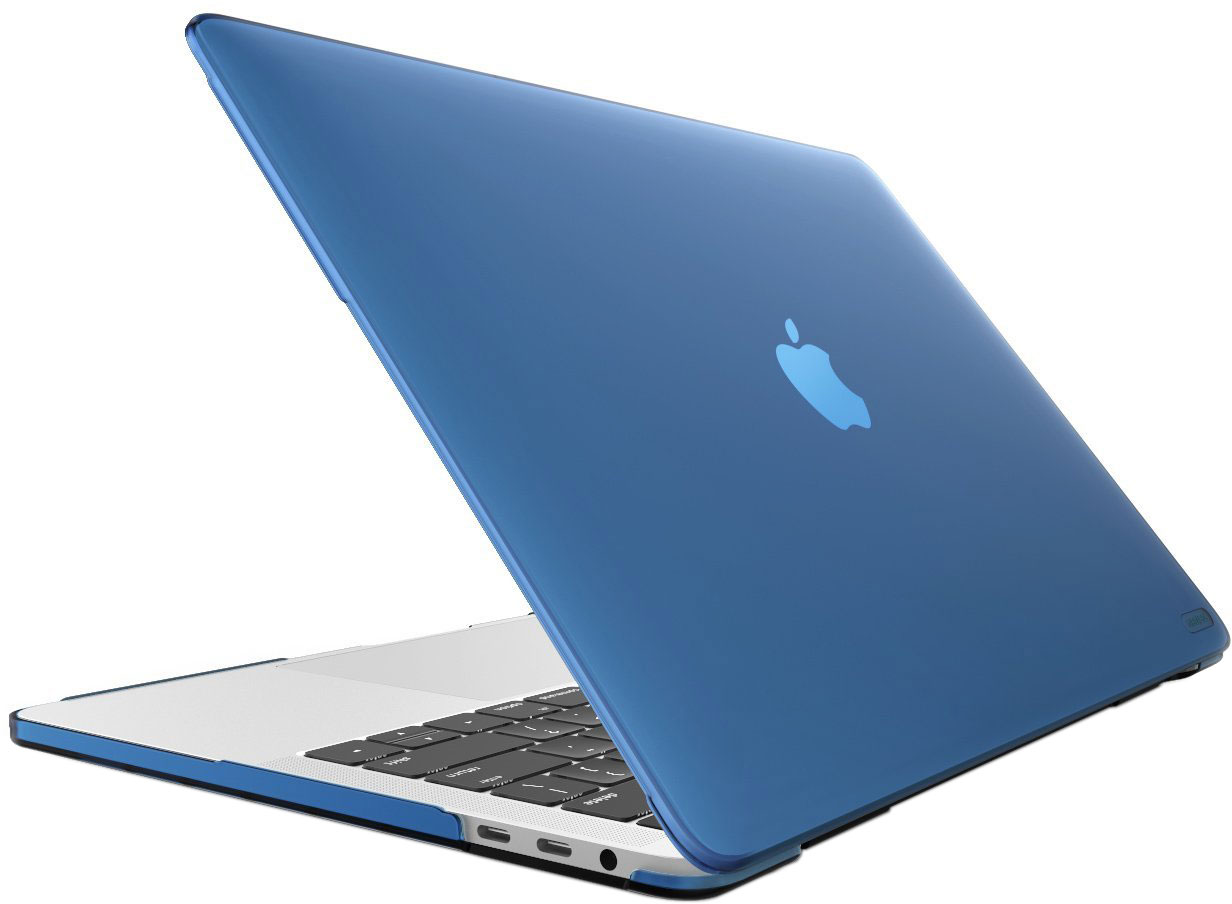 Чехол накладка i-Blason для Macbook Pro 13 A1706/A1708 (Matte Navy blue)