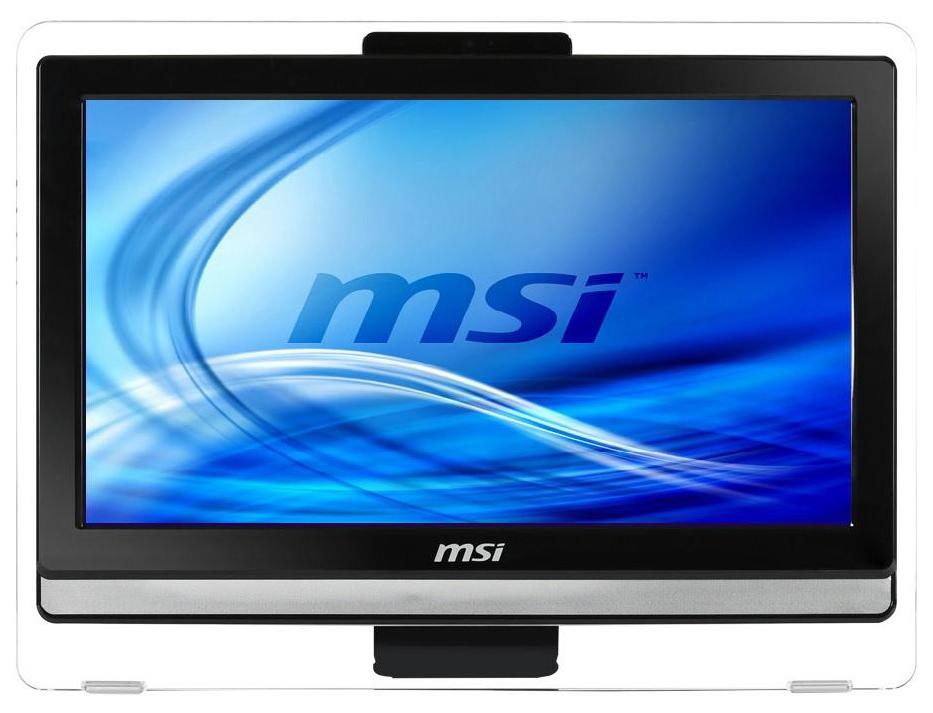 Моноблок MSI AE202-023RU 19.5'', Intel Celeron 1037U 1.8GHz, 4 Gb, 500 Gb (9S6-AA8711-023) от iCover