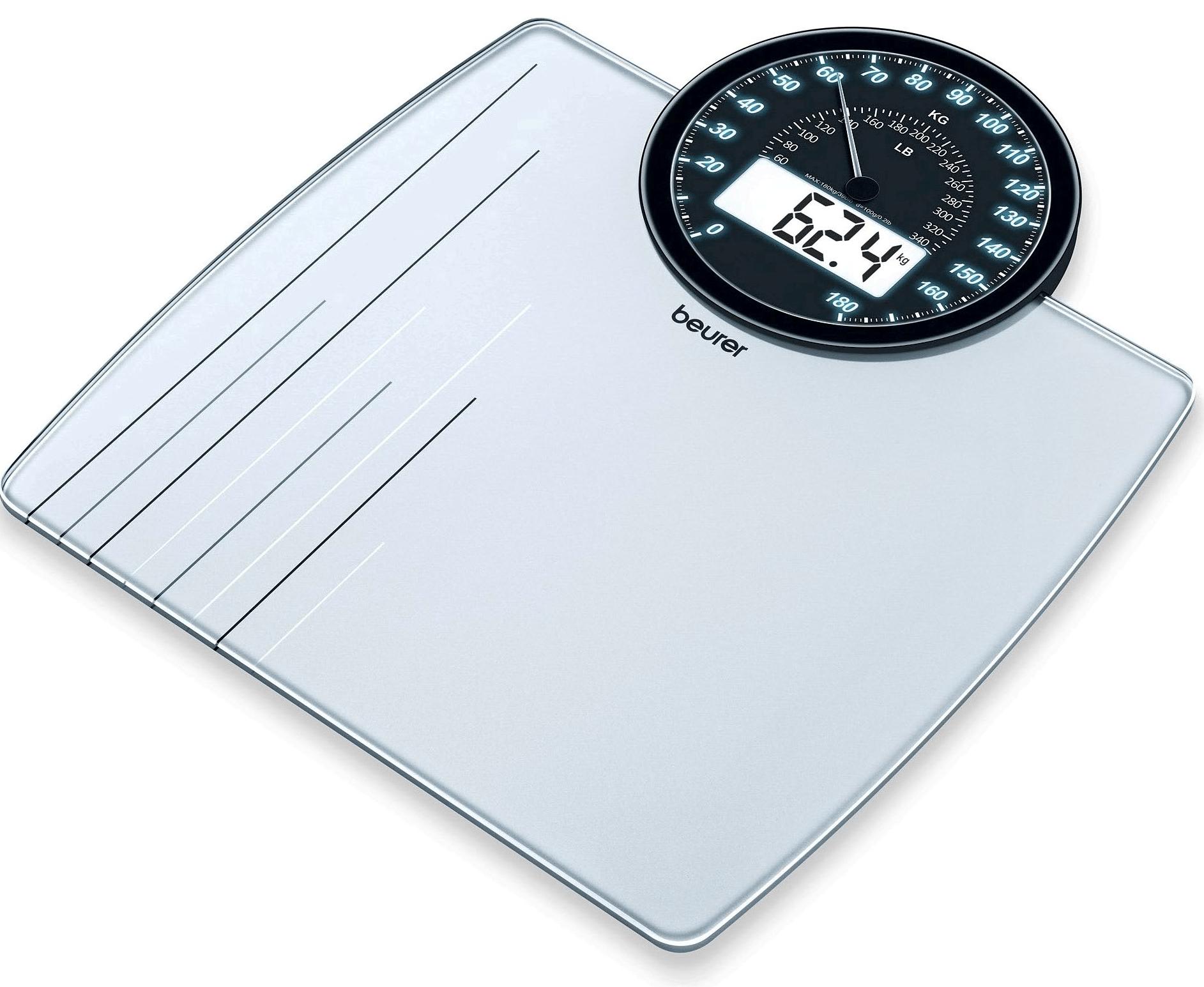 Beurer GS58 - напольные весы (Silver)
