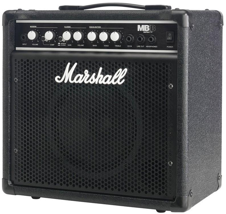 Marshall MB15 Bass Combo - гитарный комбоусилитель (Black)
