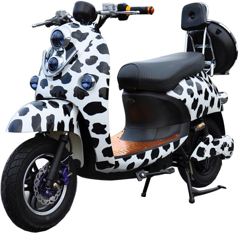 Novelty Electronics Scooter - электрический скутер (Milk White)