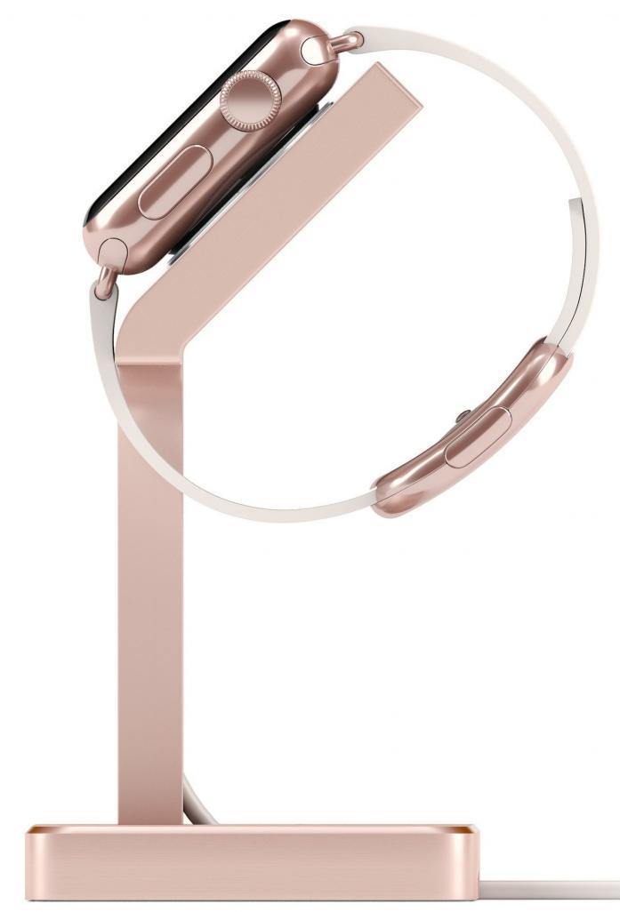 Подставка Satechi Aluminum Apple Watch Charging Stand (ST-AWSR) для Apple Watch series 2/3/4 (Rose Gold)