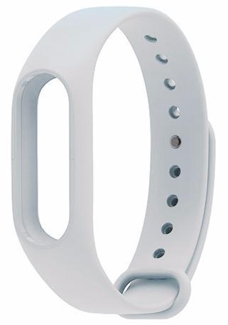 Сменный силиконовый ремешок для Xiaomi Mi Band 2 (White)