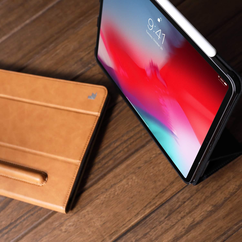 Чехол Jisoncase Mircofiber Leather Case (JS-PRO-45M20) для iPad Pro 11 (Braun)