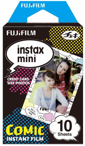 Fujifilm Instax Mini (inst_comic) - картридж для фотоаппарата (Comic) instax