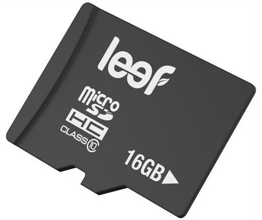 Leef microSDHC 16Gb Class 10 (LFMSD-01610R) - карта памяти (Black)