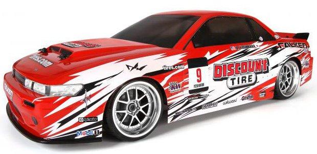 HPI Nitro RS4 3 Drift 1:10 - радиоуправляемый автомобиль (Red)