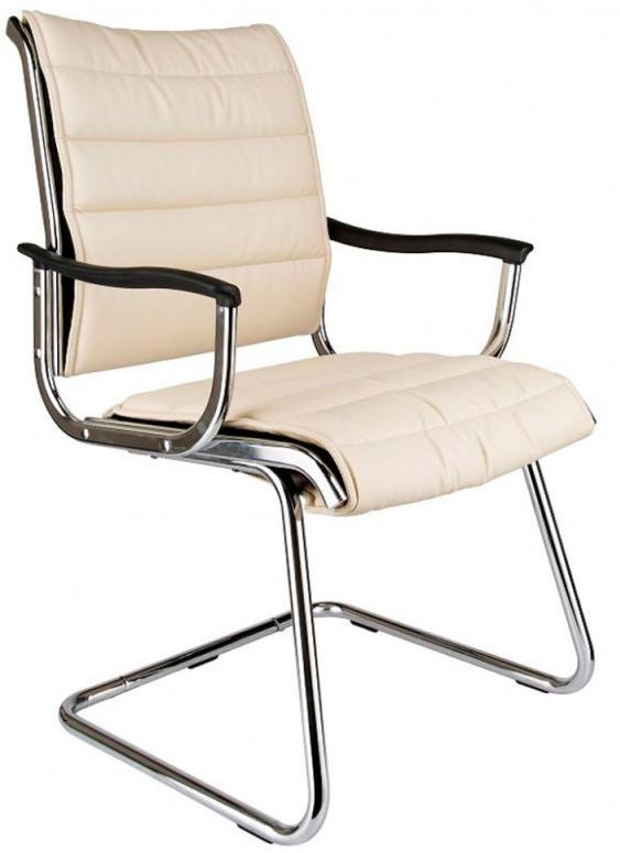 Бюрократ CH-994AV - кресло для посетителя (Ivory) от iCover