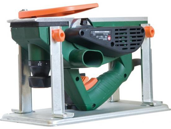 Калибр РЭ-720+СТ (11303) - электрорубанок (Dark Green) от iCover